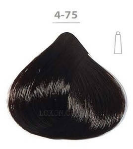 Стойкая крем-краска DUCASTEL Subtil Creme 60мл 4-75 - Каштаново-махагоновый шатен, фото 2
