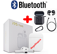 Наушники беспроводные AirPods i9S TWS Plus. Bluetooth наушники HBQ i9S TWS PRO V5.0