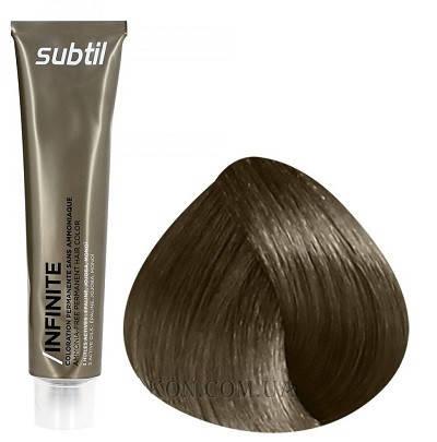Стойкая безаммиачная краска для волос DUCASTEL Subtil Infinite 60 мл 7 - Блондин, фото 2