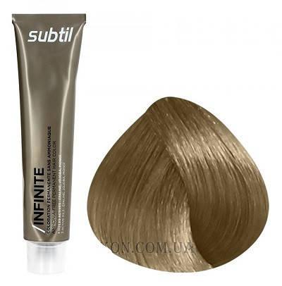 Стойкая безаммиачная краска для волос DUCASTEL Subtil Infinite 60 мл 8.71 - Светлый блондин коричнево-пепельный, фото 2