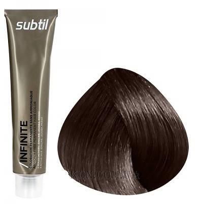 Стойкая безаммиачная краска для волос DUCASTEL Subtil Infinite 60 мл 5.5 - Светлый шатен махагоновый, фото 2