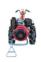Мотоблок Мотор Сич МБ-9ДЕ(дизель 9 л.с., WEIMA WM186FE, электростартер), фото 4