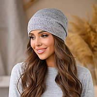 """Женская шапка LaVisio """"Офелия"""" 646-017 серый"""
