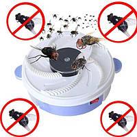 🔥 Автоматическая ловушка уничтожитель для летающих насекомых мух USB Electric Fly Trap MOSQUITOES, фото 1