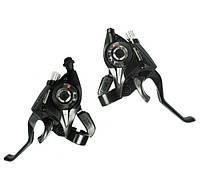 Манетки Shimano Tourney ST-EF51 черные ,серые