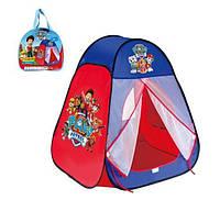 Детская палатка Paw Patrol (80х80х90 см)