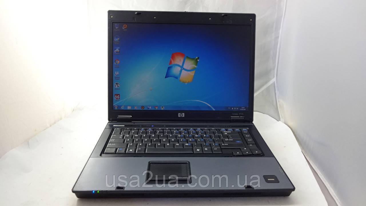 """15.4"""" Ноутбук HP Compaq 6710b T8100/160Gb/2Gb Кредит Гарантия Доставка"""