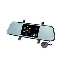 Зеркало видеорегистратор MR-52, 2-camers, FullHD (1920x1080)