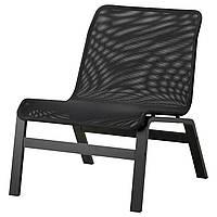 Кресло IKEA NOLMYRA Черный (402.335.35)