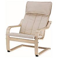 Кресло детское IKEA POÄNG Бежевый (901.165.53)