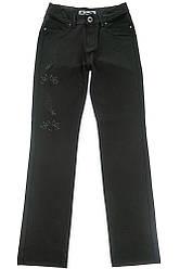 Джинсы женские, с пайетками  85P511 (Черный)