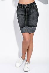 Юбка женская, джинсовая 85P750 (Грифельный)