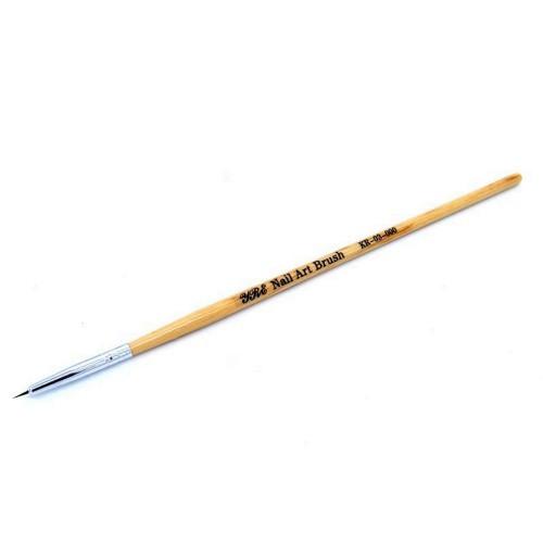 Кисть для рисования 000# 5мм (деревянная ручка)