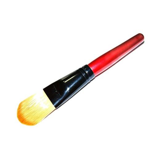 Кисть для тональной основы (большая/красная ручка)