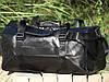 Дорожная сумка из искусственной кожи, среднего размера 50х23х25 см, плечевой ремень, фото 5