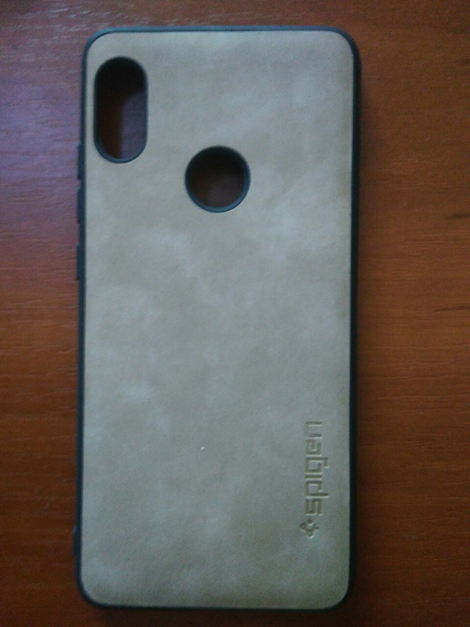 Чехол накладка Spigen  Xiaomi redmi Note 5 / Note 5 Pro (бежевый)