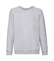Детский свитер премиум однотонный светло серый 033-94
