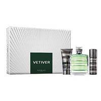 Guerlain Vetiver туалетная вода 100 ml + S/G гель для душа 75 ml + DEO дезодорант 50 ml мужской НАБОР