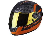 Мотошолом Scorpion EXO-490 Genesi (помаранчевий)