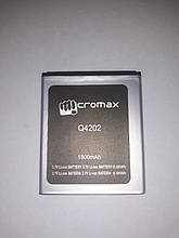 Аккумулятор Micromax Q4202