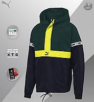 Ветровка мужская Puma XTG Savannahgreen до 0*С осенняя / весенняя