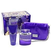Versace Versus туалетная вода 100 ml + B/L лосьон для тела 100 ml + BAG сумка женский НАБОР