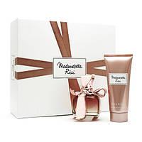 Nina Ricci Mademoiselle Ricci парфюмированная вода 50 ml + B/L лосьон для тела 100 ml женский НАБОР