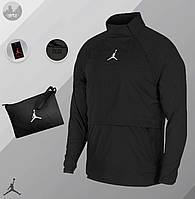 Ветровка мужская Jordan 23 Tech Packable черная до 0*С осенняя / весенняя