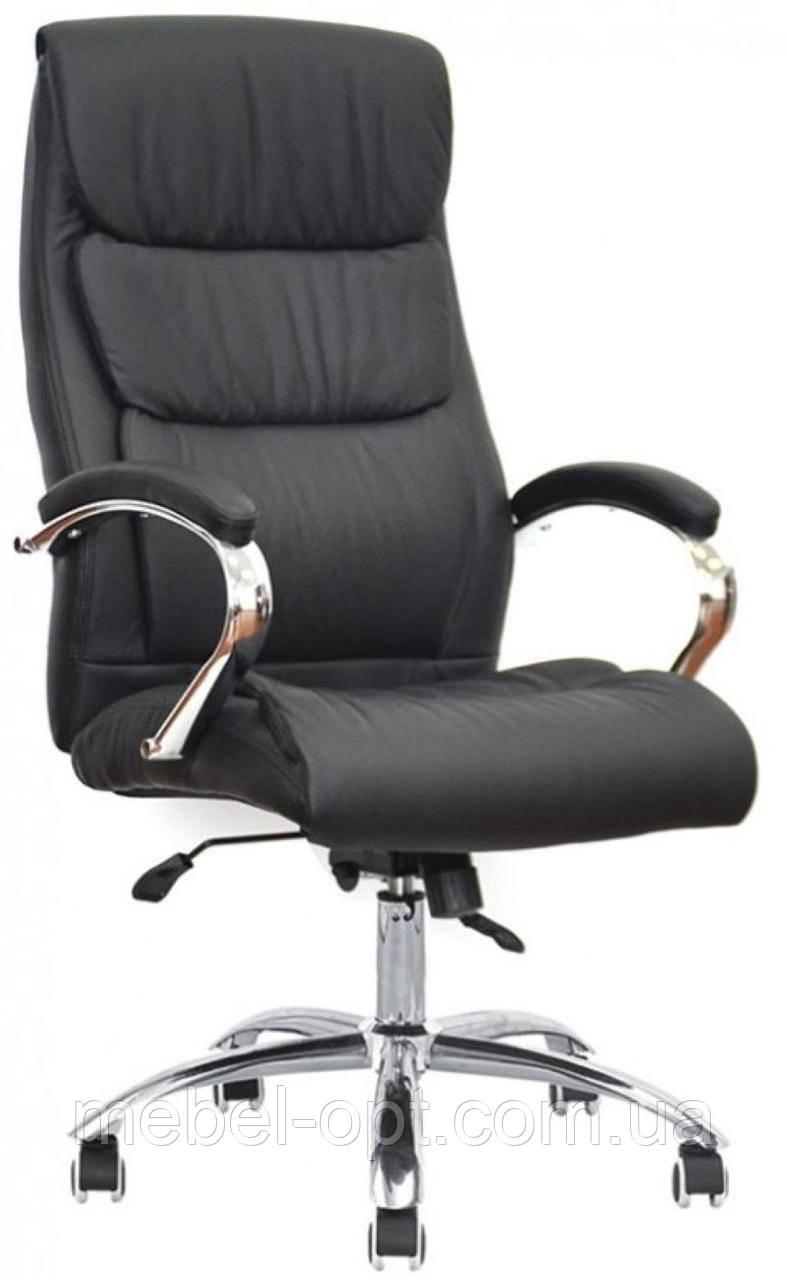 Офисное кресло для персонала Eternity black, Anyfix с регулировкой качания под вес Бесплатная доставка