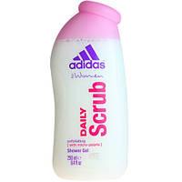 Adidas женский гель для душа Daily Scrub 250 мл