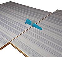 Система выравнивания плитки СВП LUX . 1 мм . Основа 500 шт , клин 200 шт