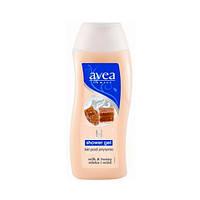 AVEA Гель для душа с экстрактом молока и меда, 300 мл