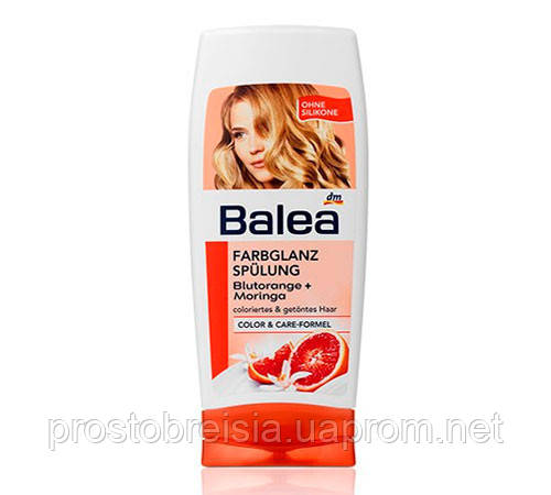 Balea Colorglanz Spulung Blutorange ополіскувач для фарбованого волосся 300 ml