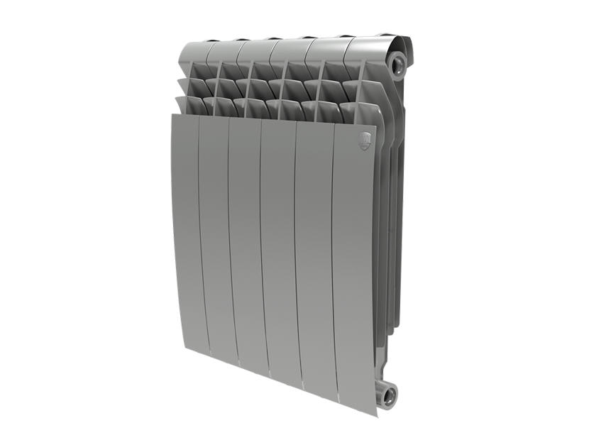 Радиатор Royal Thermo BiLiner 500 Silver Satin - 8 секц