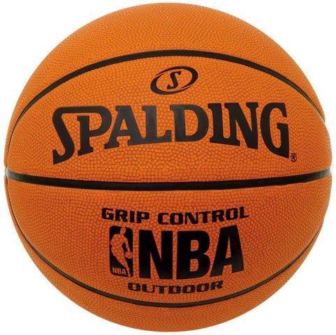 Мяч баскетбольный Spalding Grip Control Outdoor, размер 7, резина, для игры на улице, коричневый