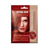 ФИТОкосметик Крем-Хна в готовому вигляді Мідно-червоний з реп'яховою маслом 50мл