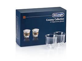 Набор стаканов Delonghi DLSC301 Cappuccino 6 предметов