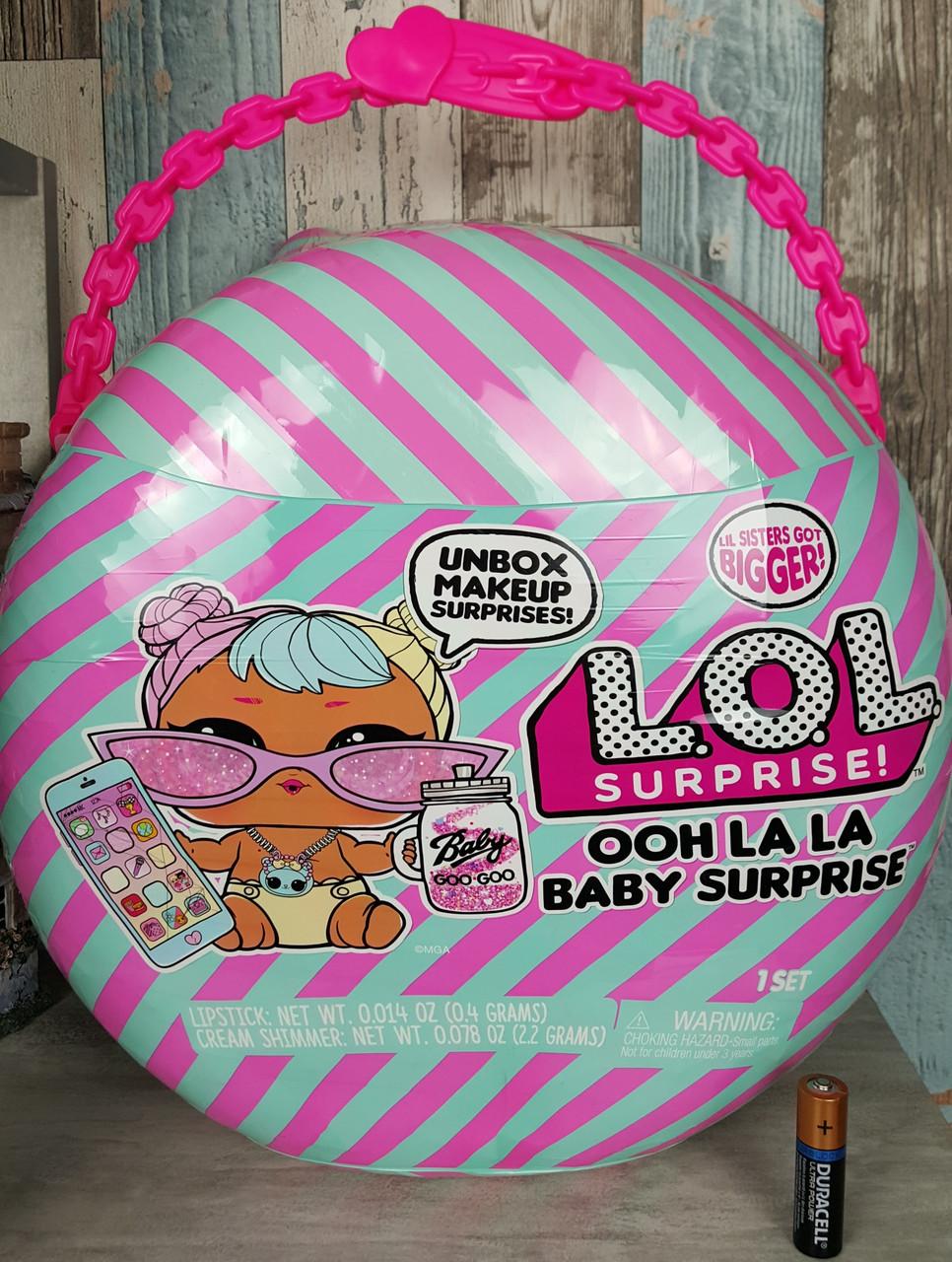 Набор с большой куклой Беби Бон Бон L.O.L. Surprise! Ooh La La Baby Surprise- Lil Bon Bon, MGA