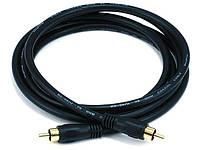 Коаксиальный кабель Monoprice для S/PDIF, Digital Coax.  0.9 метра