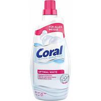 Coral Optimal White гель для стирки белого белья 20 стирок (1,5л)
