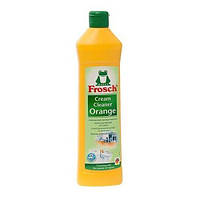 Frosch чистящее молочко на основе мраморной пыли с ароматом апельсина (500 мл.)