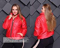 Куртка женская  на синтепоне батал 50867