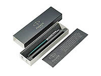 Шариковая ручка Parker (Паркер) Jotter XL Matte Green CT, зеленый/серебристый