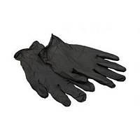 Перчатки черные S (100шт)