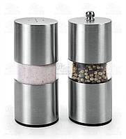 Metaltex Набор солонка и мельница для перца 13см 252830