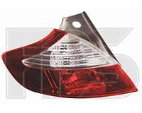 Фонарь задний для Renault Megane '08-, хетчбек правый, внешний (DEPO)