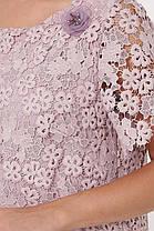 Праздничное женское платье из ирландского кружева больших размеров 52-58, фото 3