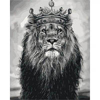"Картина по номерам ""Король Лев"" КНО4079 scs"