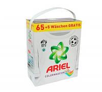 Ariel Color порошок для стирки цветных вещей 4.5 kg-65+5 стирок