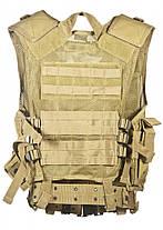 Жилет разгрузочный MilTec USMC Coyote 10720005, фото 2